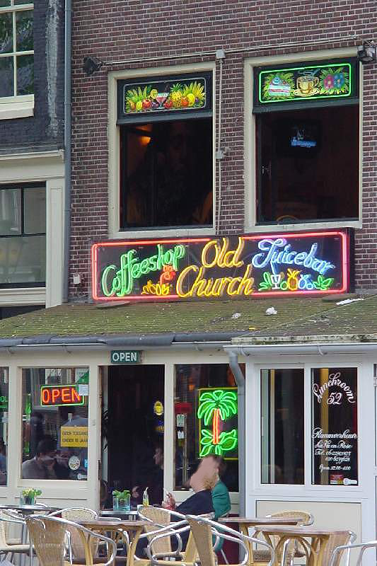 Coffee shop Amsterdam (cannabis)